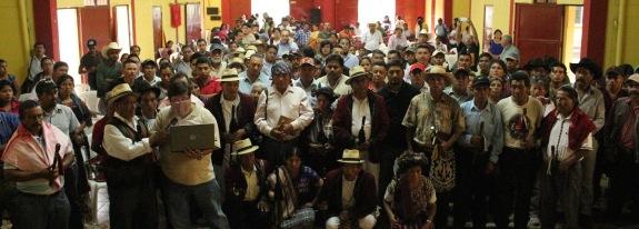 Asamblea Social y Popular, Guatemala 28 de abril 2015